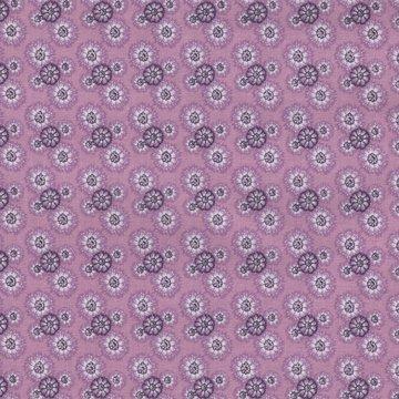 Eyelike Fabrics Hindelopia lila bloemetje