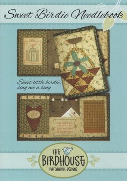 Patroon: Sweet Birdie Needlebook, Natalie Bird, The Birdhouse