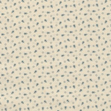 Windham Fabrics Kindred Spirits Sisters ecru blauw werkje