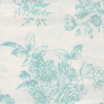 Andover Katie Jane wit met blauwe toile