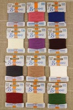 Sajou Retors Du Nord borduurgaren 12 kleuren vintage sortering 1