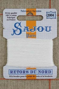 Sajou Retors Du Nord borduurgaren 2004 off white