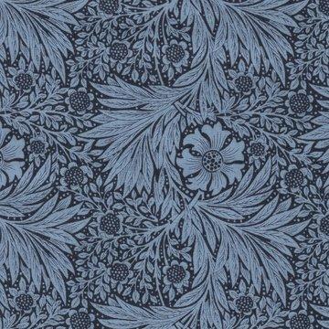 Free Spirit / Morris & co. Kelmscott marigold blauw