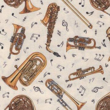 Elizabeth's Studio jazz ecru blaasinstrumenten