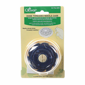 Clover Dome Threaded Needle Case, naaldenhouder