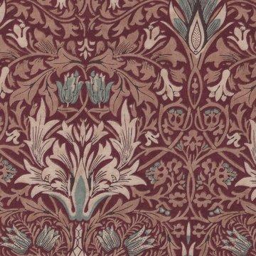 Free Spirit / Morris & co. Merton rood snakehead