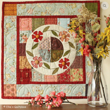 Patroon: Flower Garland, Ellie's Quiltplace, EQP