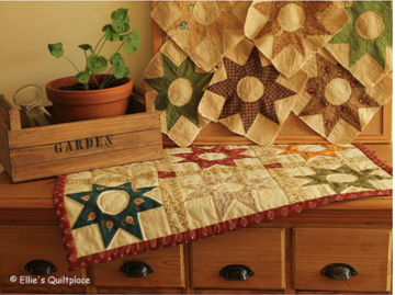 Patroon: Past & Present Memories, Ellie's Quiltplace, EQP
