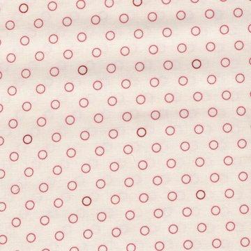 Andover Little Sweetheart Edyta Sitar ecru roze cirkel