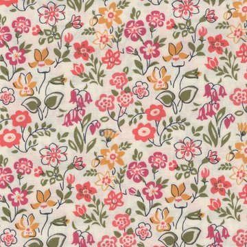 Liberty London The cottage garden ecru bloem
