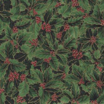 Hoffman California kerst groen hulstblaadjes