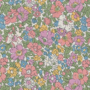 Liberty London The cottage garden wit pastel bloemen