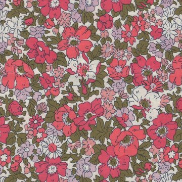 Liberty London The cottage garden wit roze bloemetje