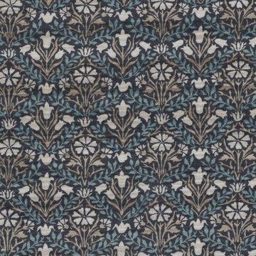 Free Spirit / Morris & co. Montagu Bellflowers blauw