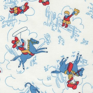 Windham Fabrics Storybook Ranch wit cowboy