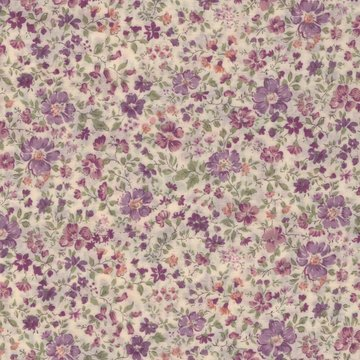 Sevenberry minibloemetje paars
