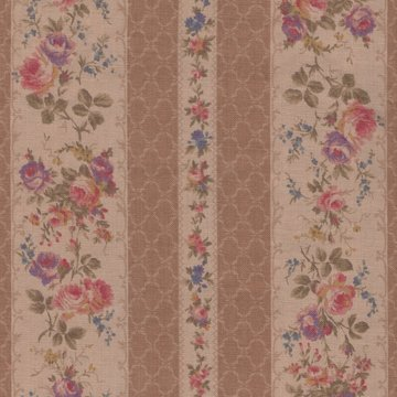 Lecien Antique Rose tan roze roos rand