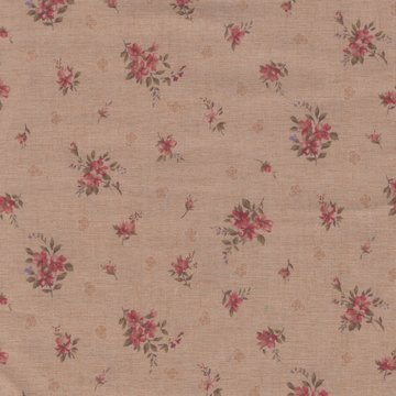 Lecien Antique Rose tan roze mini roos