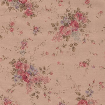 Lecien Antique Rose tan roze roos medium