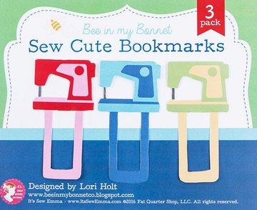Lori Holt Sew Cute Bookmarks, boekenleggers