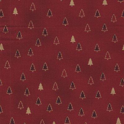 Stof a/s Christmas Wonders rood kerstboompje