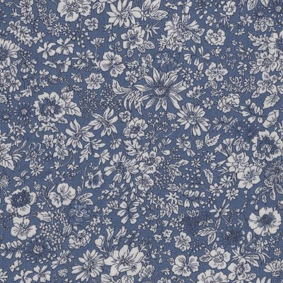 Liberty London English Garden Emily Silhouette blauw
