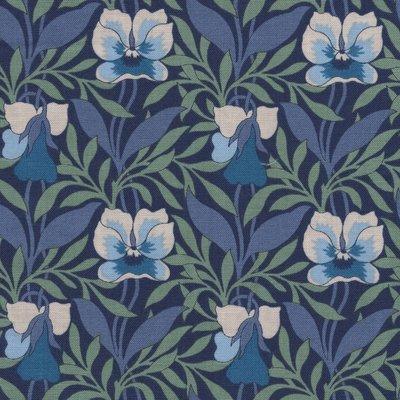 Liberty London Hesketh House Harriet's Pansy blauw