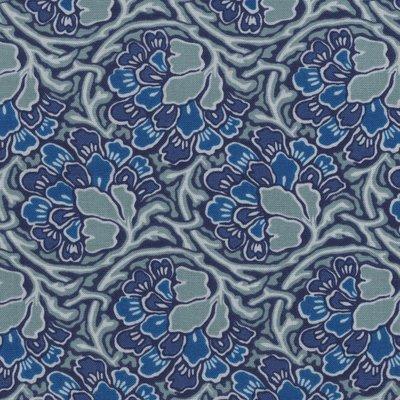 Liberty London Hesketh House Dianthus Dreams blauw