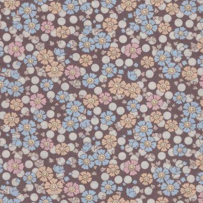 Tilda PlumGarden Flower Confetti nutmeg