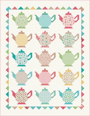 Teapot Quilt Kit (150x190)