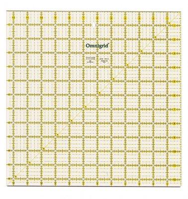 Omnigrid universele liniaal 12,5 x 12,5 inch