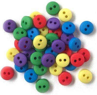 mini knoopjes frisse kleuren