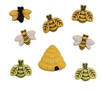 knoopjes thema bijtjes