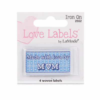Lovelabels: Made with love by mom