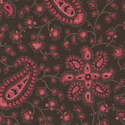 Andover Chesapeake bruin roze paisley