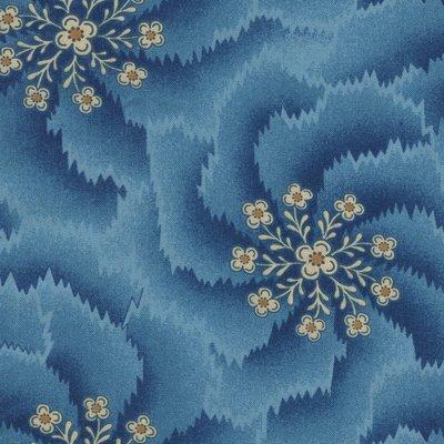 Andover Chesapeake blauw swirls