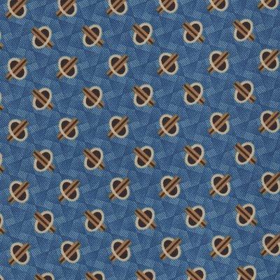 Andover Chesapeake blauw geometric