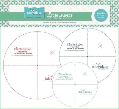 Lori Holt Circle rulers 8