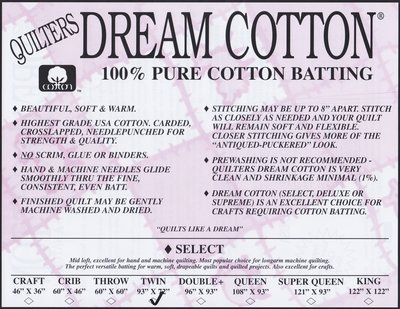 QD Cotton Select KIng