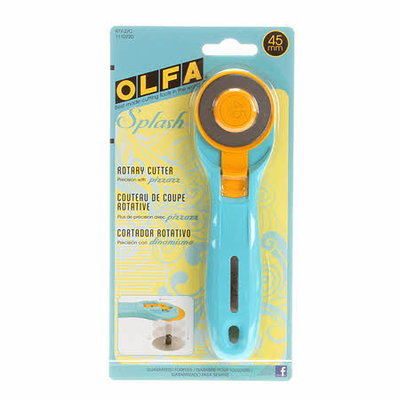 Olfa rotary cutter rolmes 45 mm splash