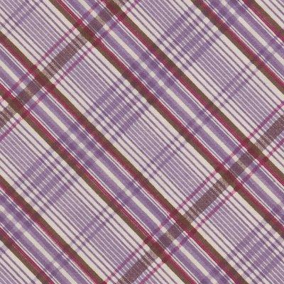 Windham Fabrics Edith ecru met paarse ruit