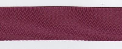 Tassenband wijnrood 40mm