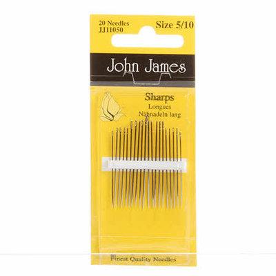 John James naainaalden (sharps) assortiment 5/10
