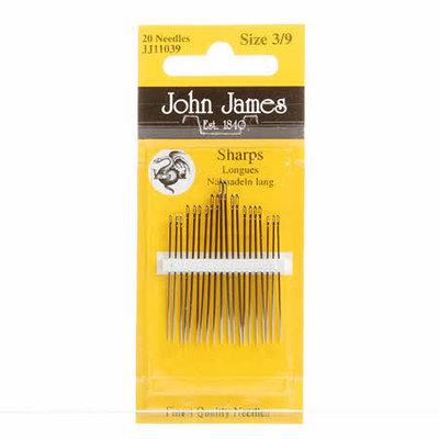 John James naainaalden (sharps) assortiment 3/9