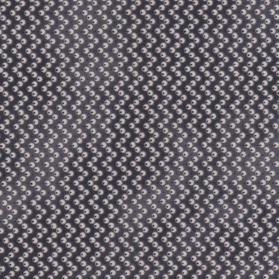Penny Rose Fabrics Mourning Gray and Purple grijs stip
