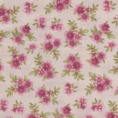 Maywood Graceful Moments taupe met roze bloem