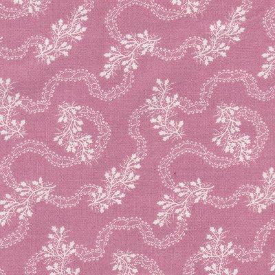 Penny Rose Fabrics Isabella roze met ecru tak
