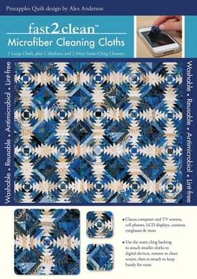 Fast2clean Microfiber schoonmaak set Alex Anderson