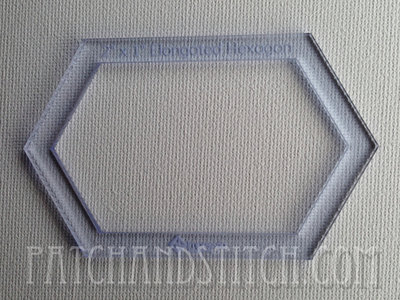 Imprezzio Template Elongated Hexagon, verlengde hexagon