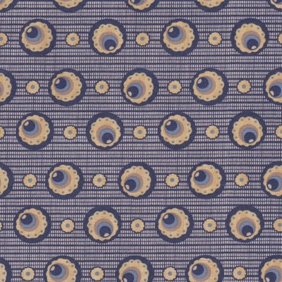 Penny Rose Fabrics The Era Of Jane blauw cirkel